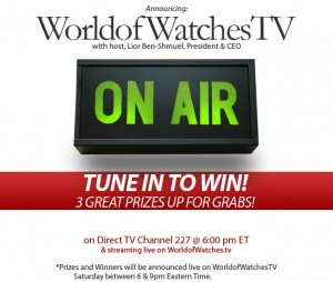 World of Watches TV Sweepstakes