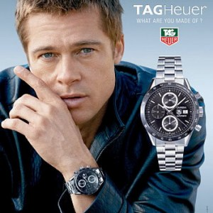 brad-pitt- for Tag Heuer
