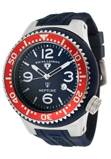 SWISS LEGEND NAVY, RED AND WHITE WATCH