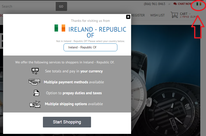 Easy Checkout for International Shoppers