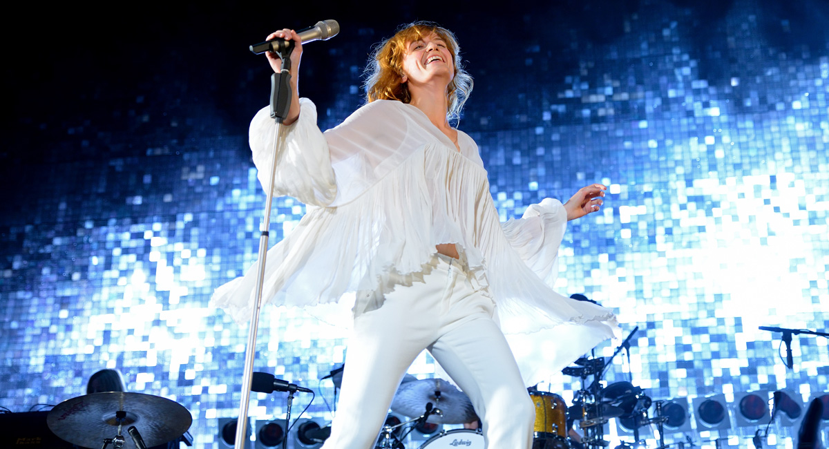 florence and the machine with a